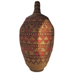Impressive and Seldom Nigerian Large Basket Garment and Cover