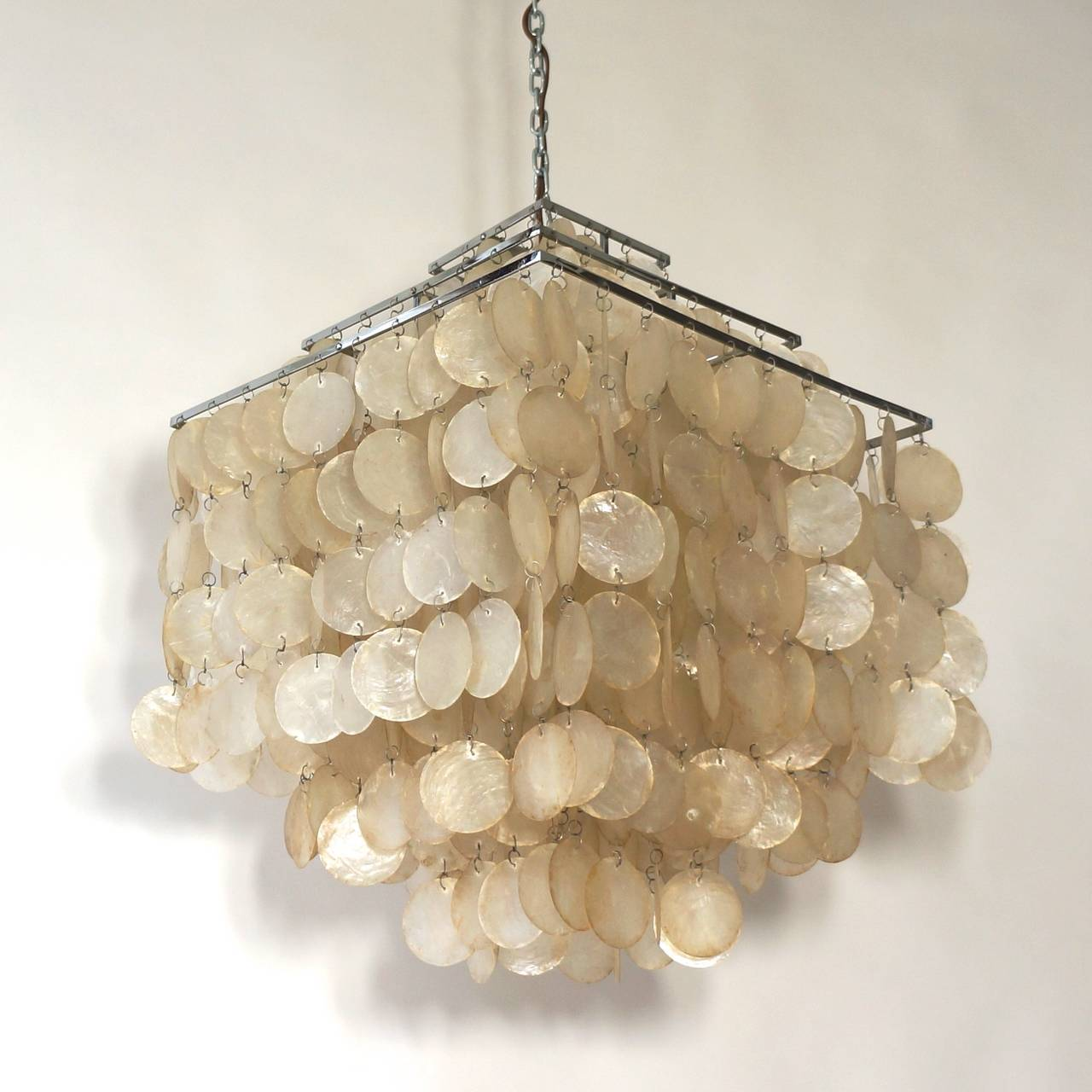 Shell chandelier arts and crafts chandelier gallery capiz shell 28 capiz chandeliers arubaitofo Images