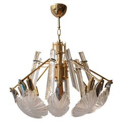 Bakalowits Gold-Plated Crystal Chandelier