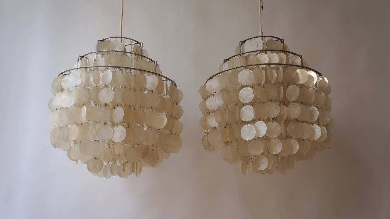 west pendant white round chandelier products small shell o capiz chandeliers elm