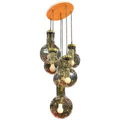 Huge RAAK Ceiling Mount Cascade Lamp