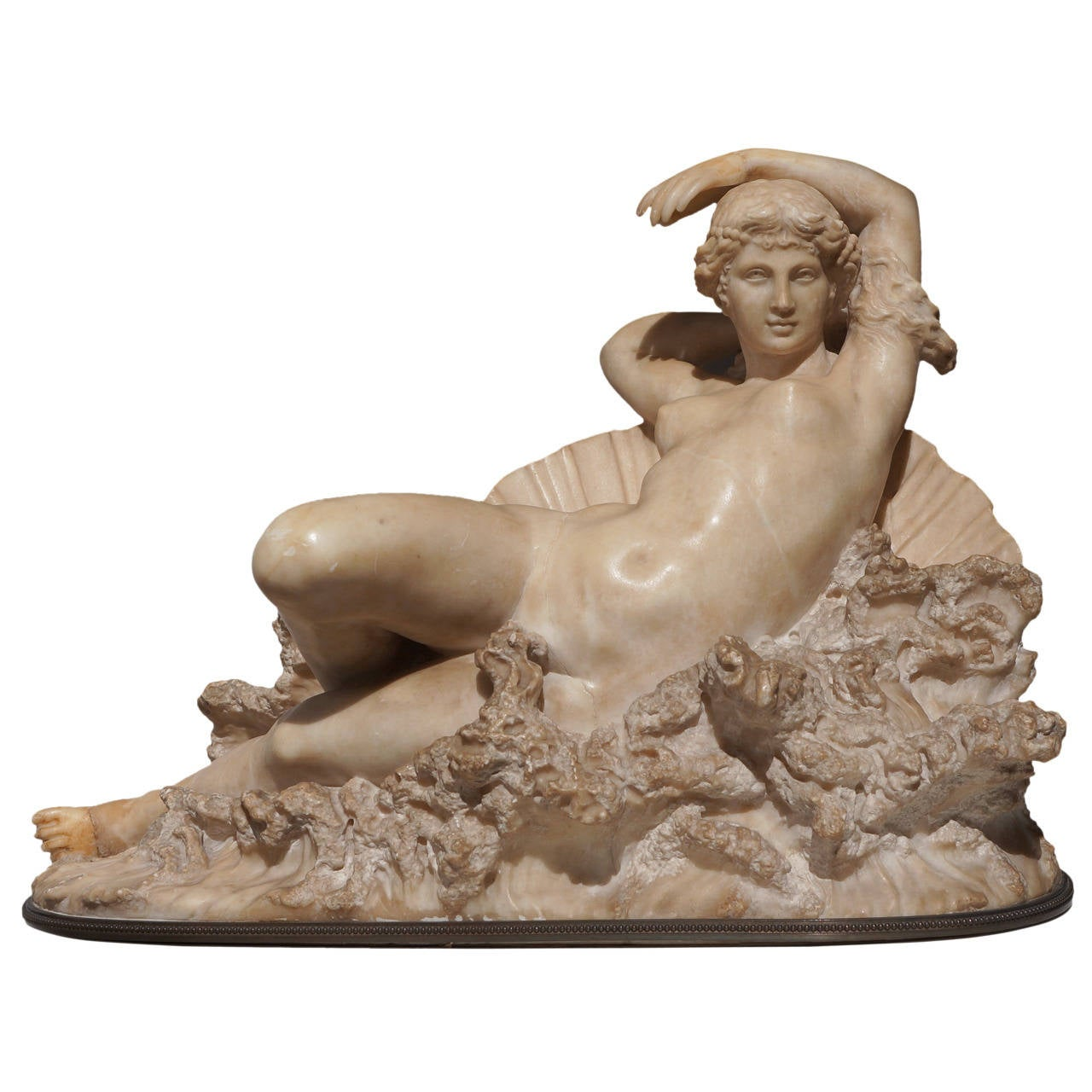 "Pietro Bazzanti Sculpture, ""The Birth of Venus from the Waves of the Sea"" For Sale"