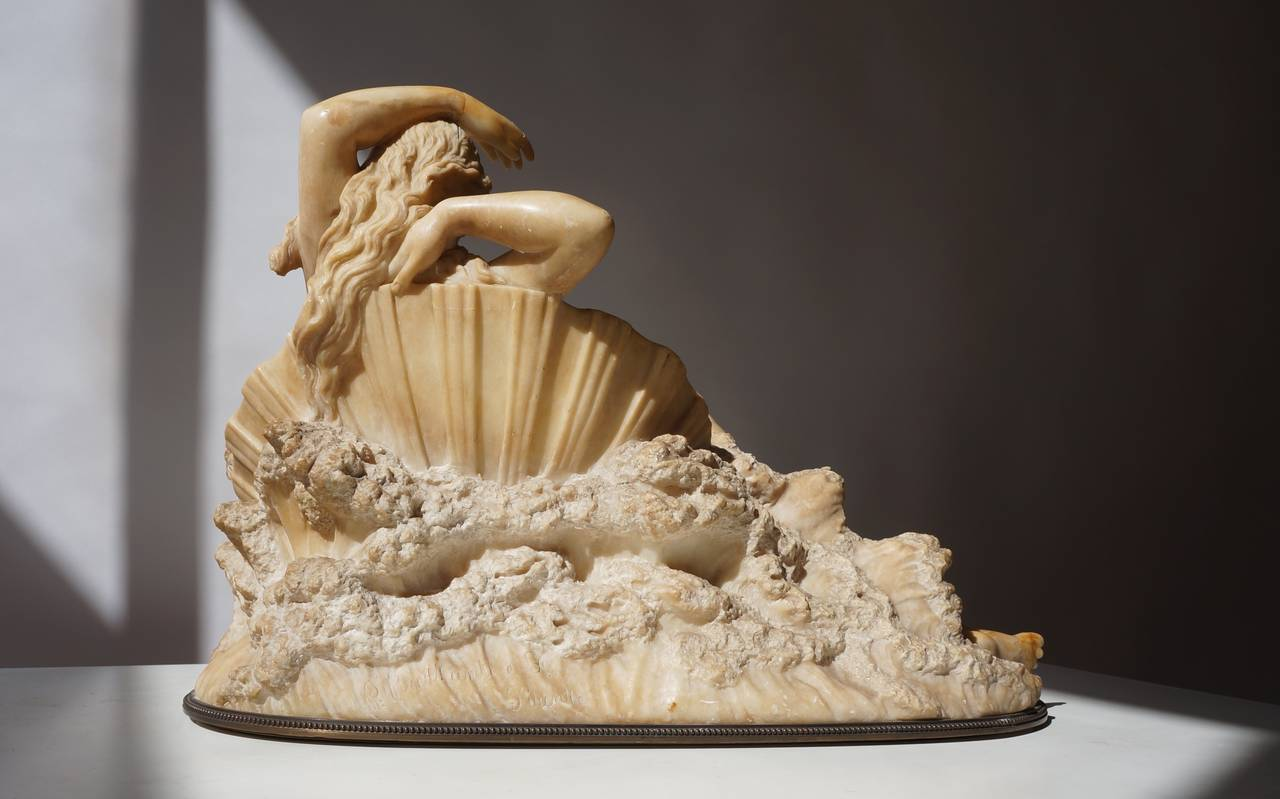 """Pietro Bazzanti Sculpture, """"The Birth of Venus from the Waves of the Sea"""" 3"""