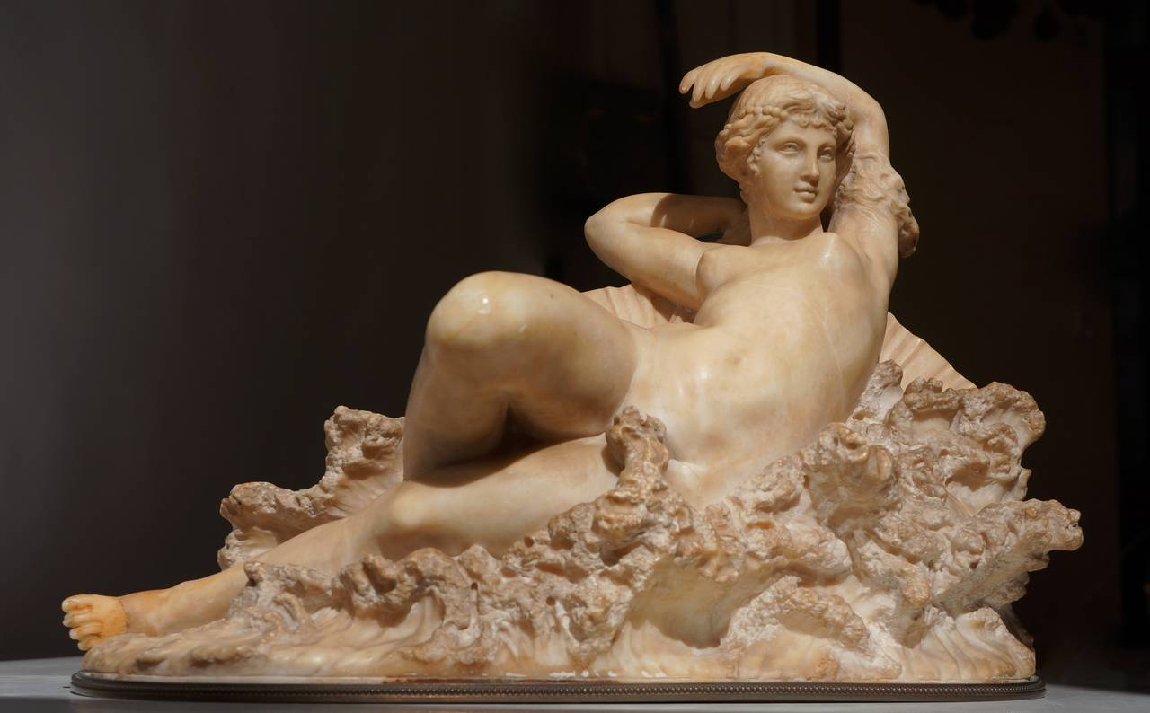 """Pietro Bazzanti Sculpture, """"The Birth of Venus from the Waves of the Sea"""" 4"""