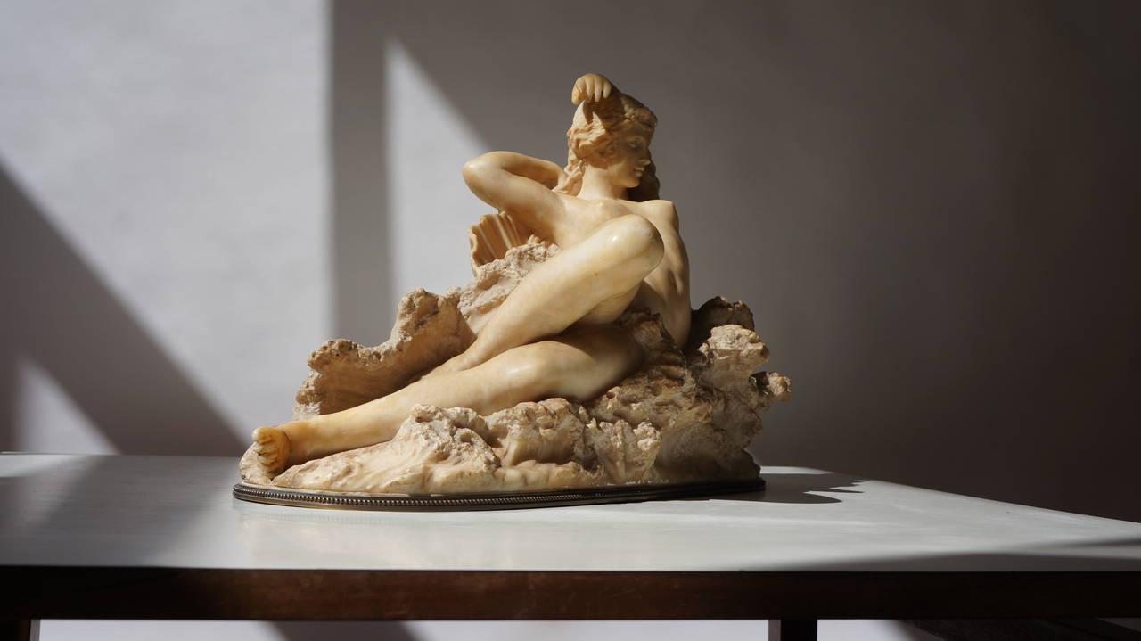 """Pietro Bazzanti Sculpture, """"The Birth of Venus from the Waves of the Sea"""" 8"""