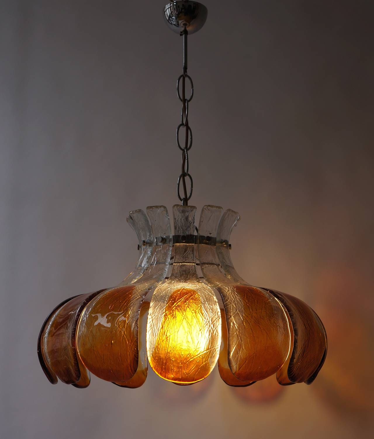 Murano Glass Chandelier For Sale 1