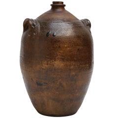 Large Glazed Stoneware Jug