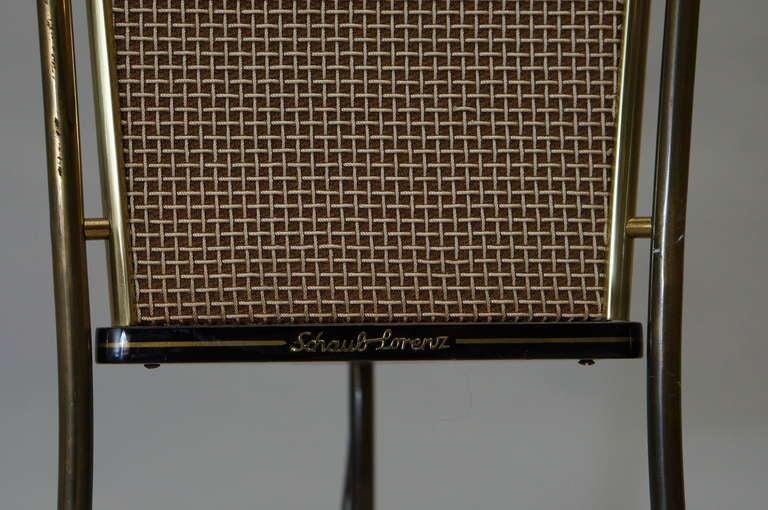 Mid-20th Century Walnut Schaub Lorenz End Table Speakers For Sale