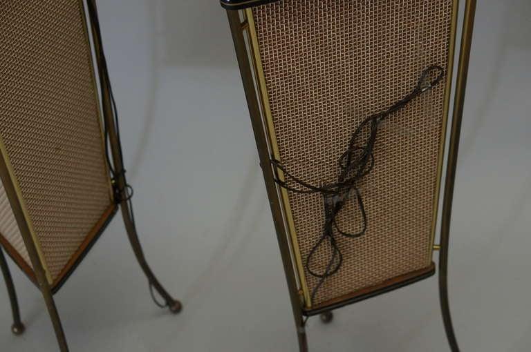 Walnut Schaub Lorenz End Table Speakers For Sale 3