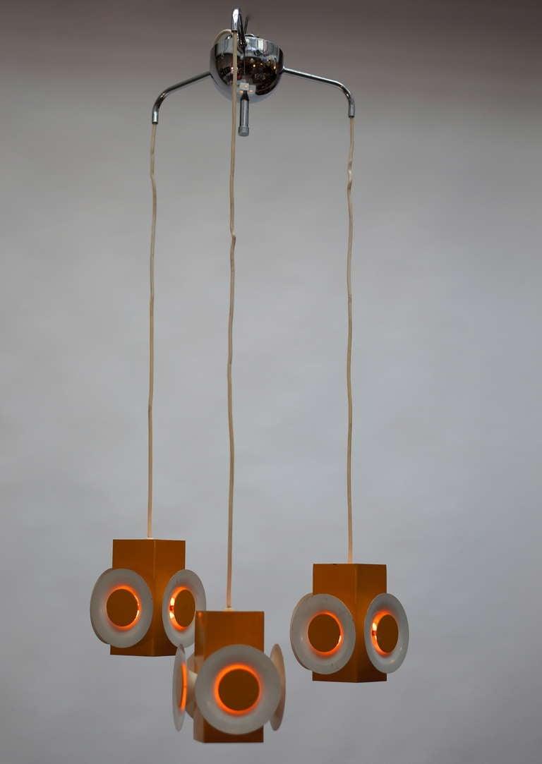 pair of 1960s hanging lamps for sale at 1stdibs. Black Bedroom Furniture Sets. Home Design Ideas