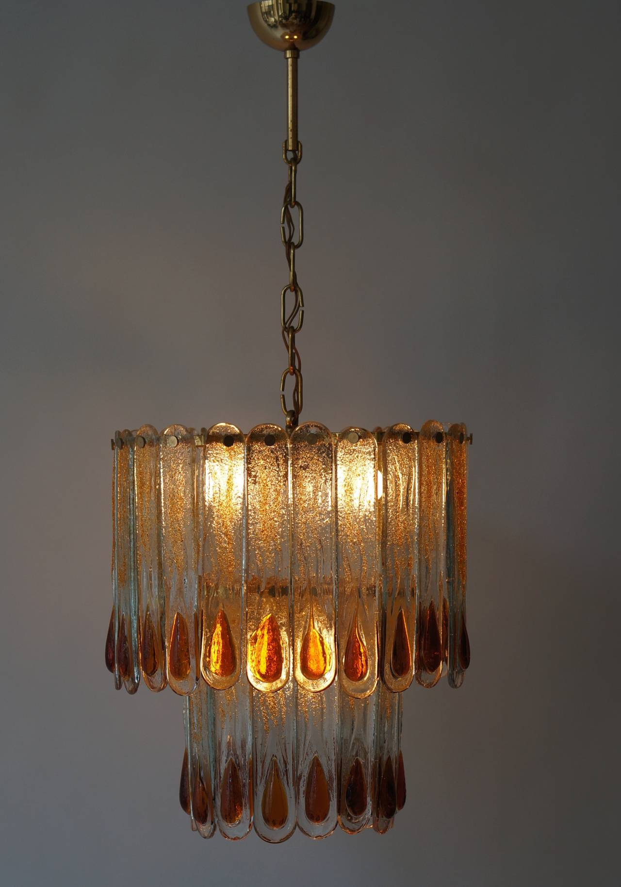 20th Century Murano Chandelier For Sale