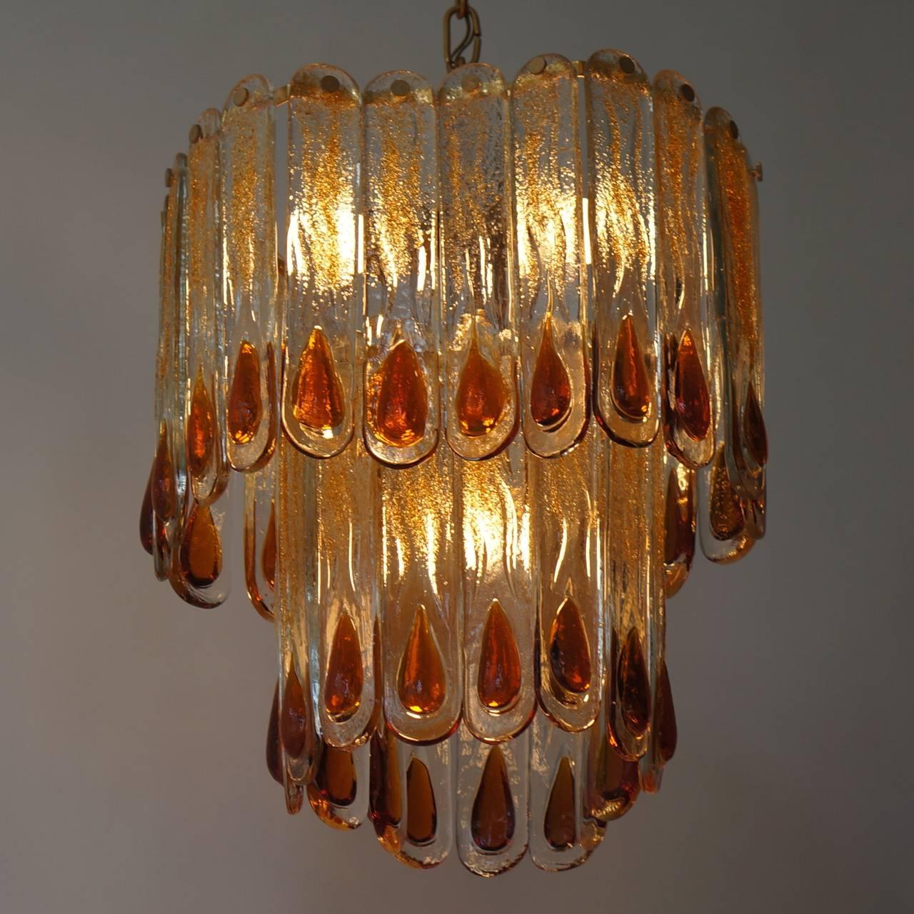 Italian Murano chandelier.