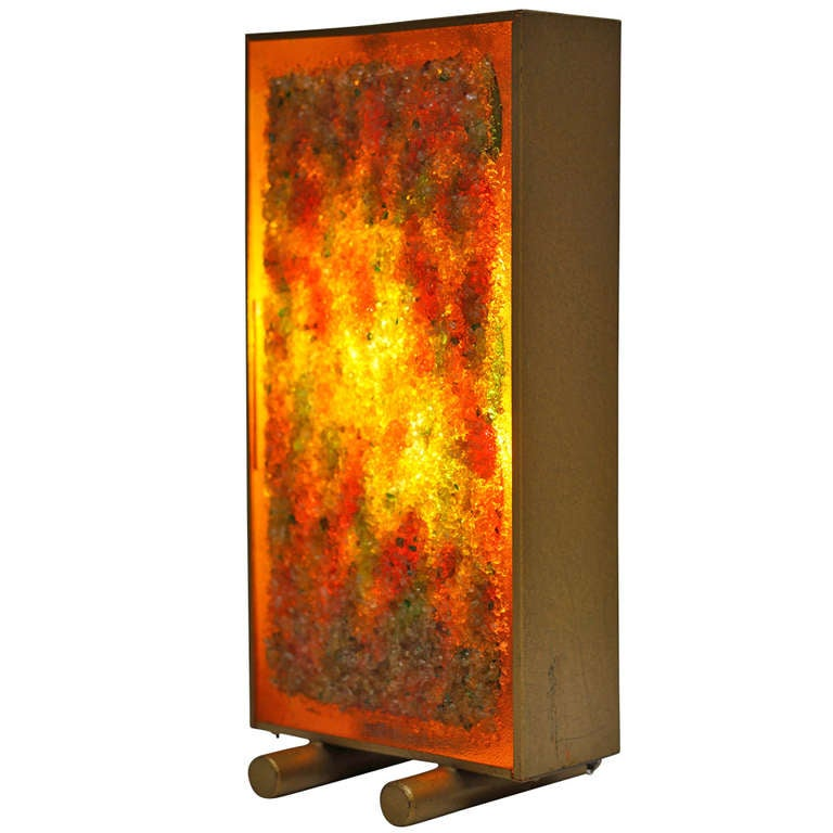 RAAK Multicolored Glass Table Lamp