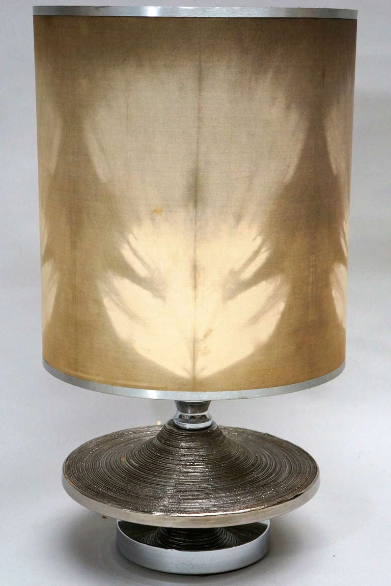 Mid-Century Modern Large Ceramic Table Lamp For Sale
