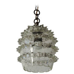 Murano Glass Pendant by Barovier