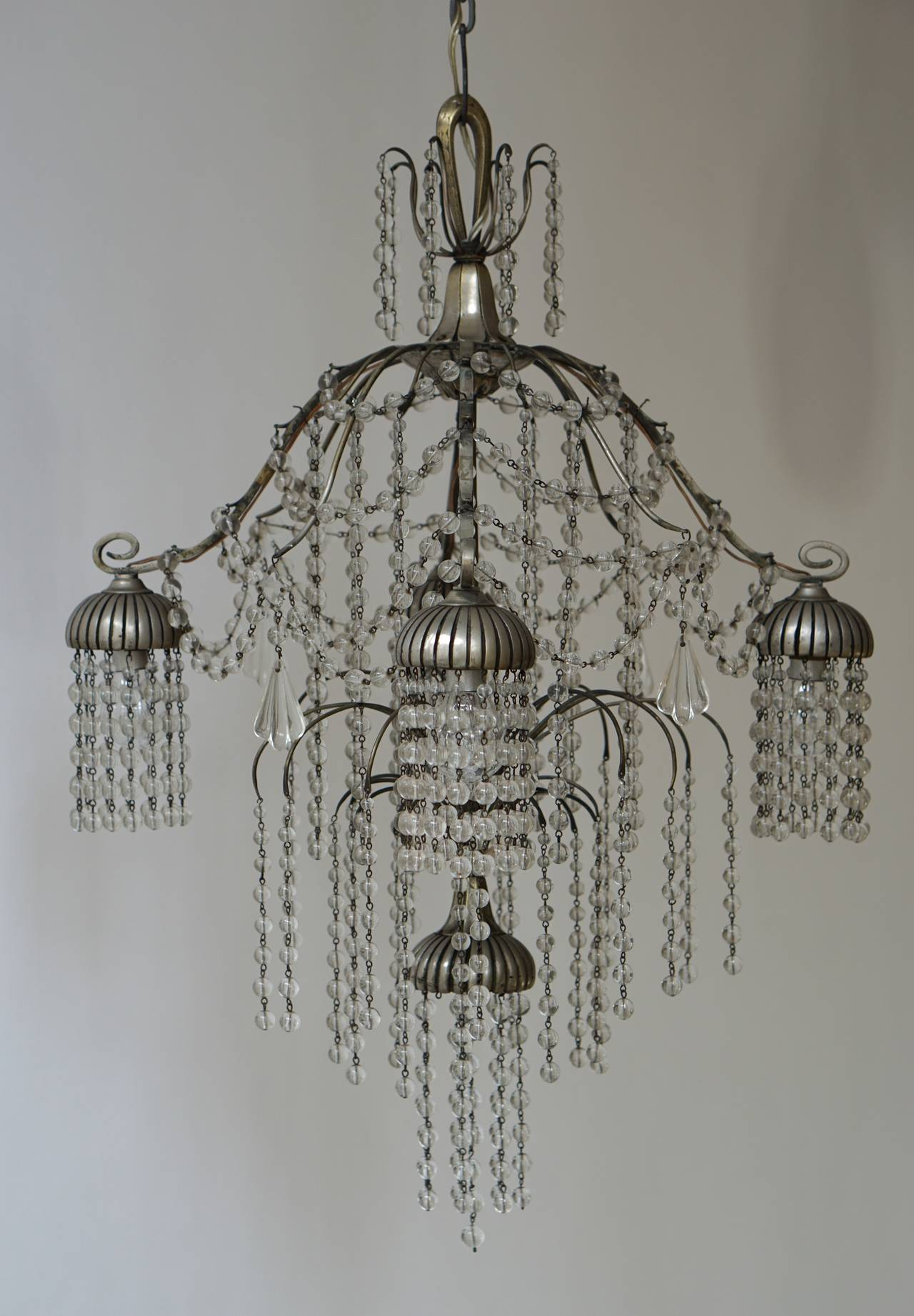 Unique Art Deco Chandelier For Sale at 1stdibs