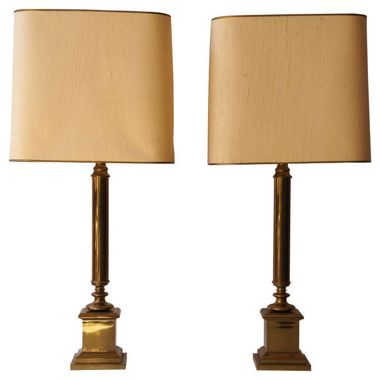 Pair Of French Table Lamps For Sale At 1stdibs