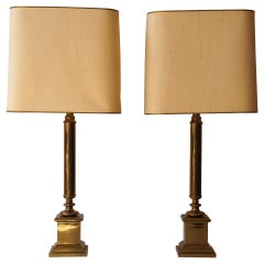 Pair of French Table Lamps