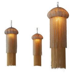 Jacques Garcia Jellyfish Chandeliers