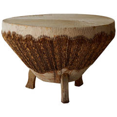 Carved african coffee table at 1stdibs African coffee tables