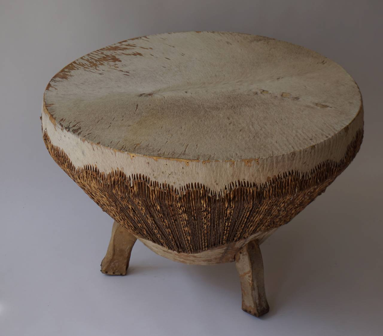 Congolese African Coffee Table For Sale