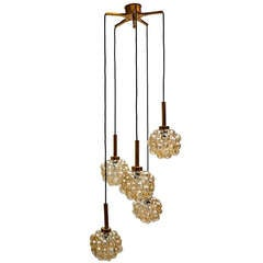 Bubble Chandelier by Helena Tynell, circa 1960s