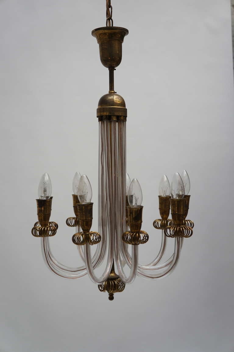 venetian glass chandelier for sale at 1stdibs. Black Bedroom Furniture Sets. Home Design Ideas