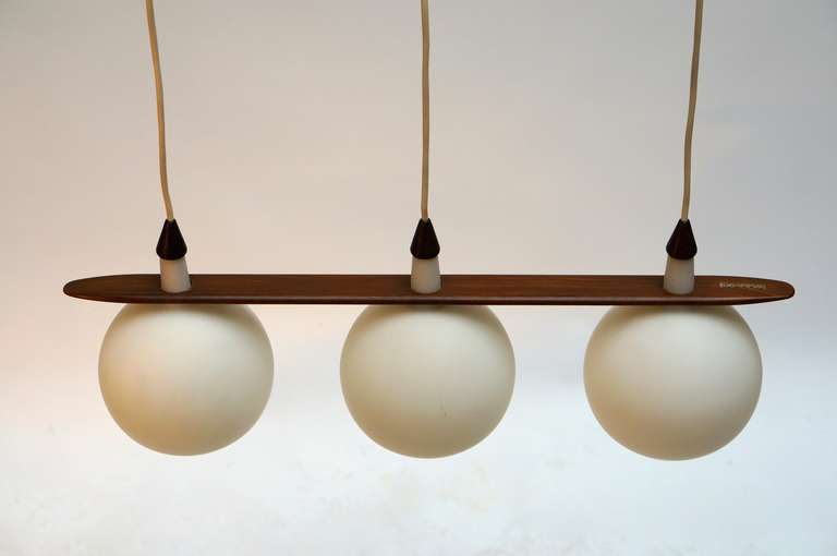 Mid-20th Century Italian Ceiling Lamp For Sale