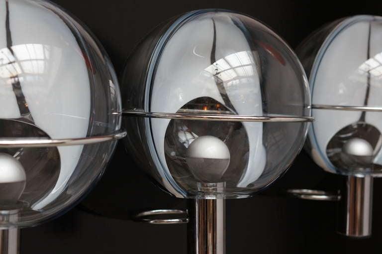 Set of Four Murano Wall Lamps by Toni Zuccheri 4