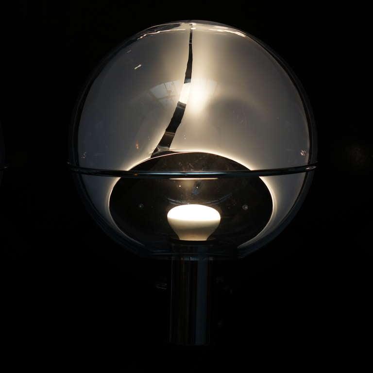 Set of Four Murano Wall Lamps by Toni Zuccheri 9