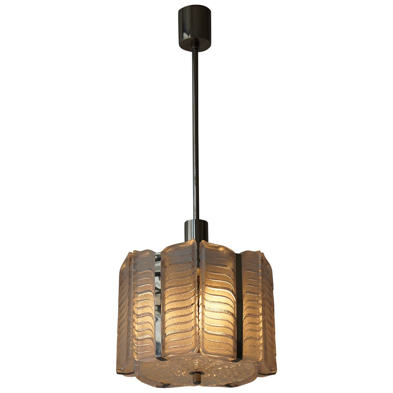 Italian Murano Glass Pendant Light