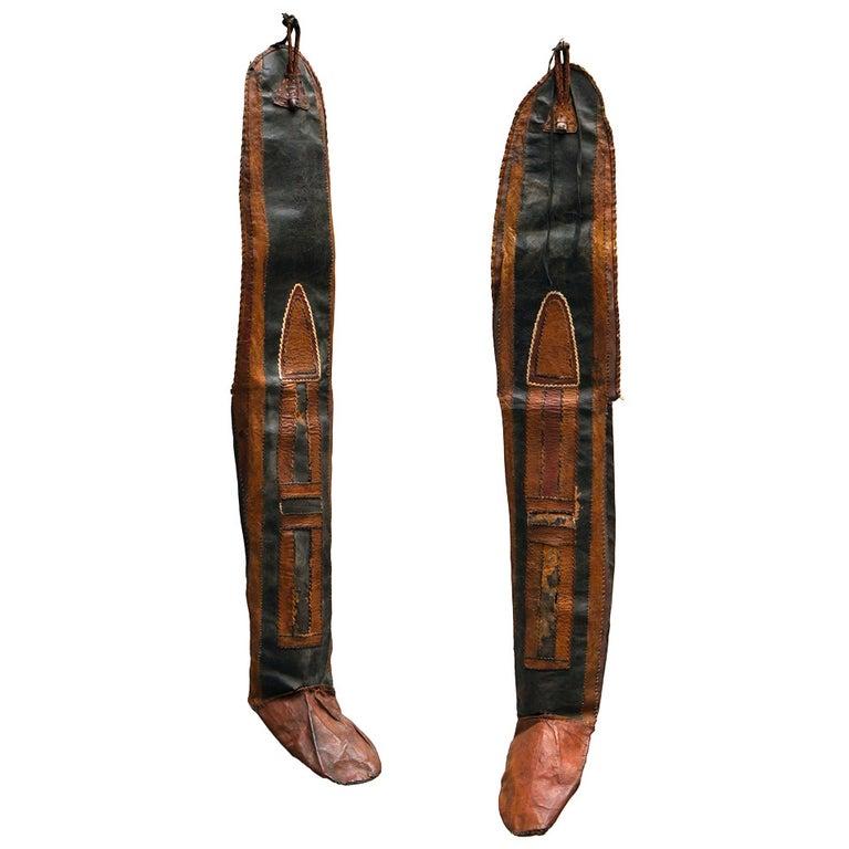 Rare Tuareg Nomadic Boots For Sale