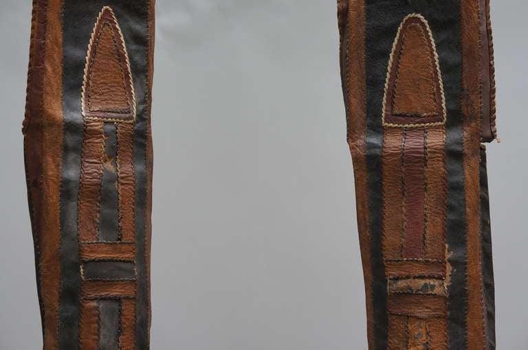 Nigerien Rare Tuareg Nomadic Boots For Sale