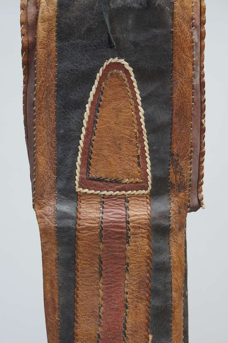 Rare Tuareg Nomadic Boots In Good Condition For Sale In Antwerp, BE