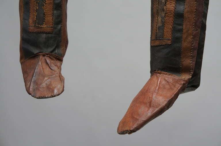 19th Century Rare Tuareg Nomadic Boots For Sale