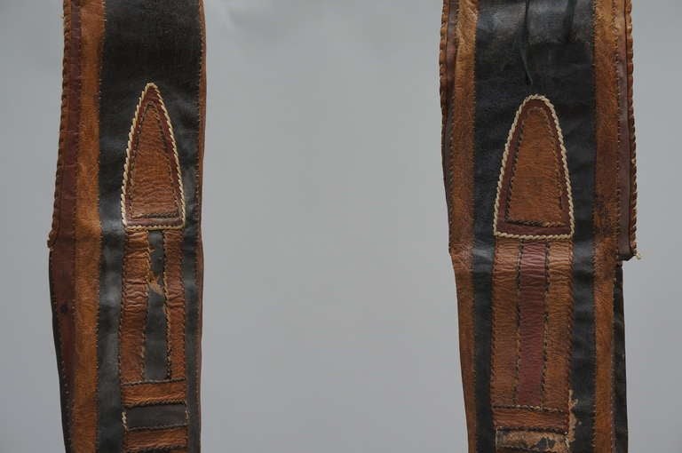 Rare Tuareg Nomadic Boots For Sale 1