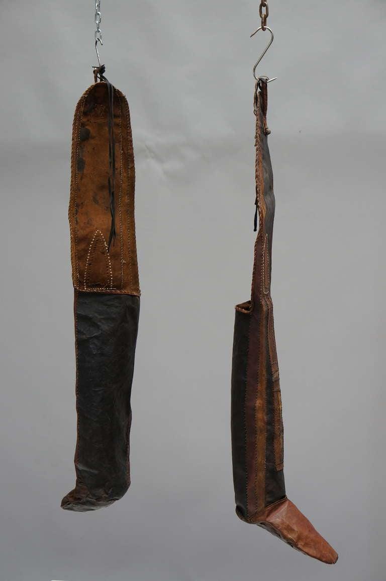 Folk Art Rare Tuareg Nomadic Boots For Sale