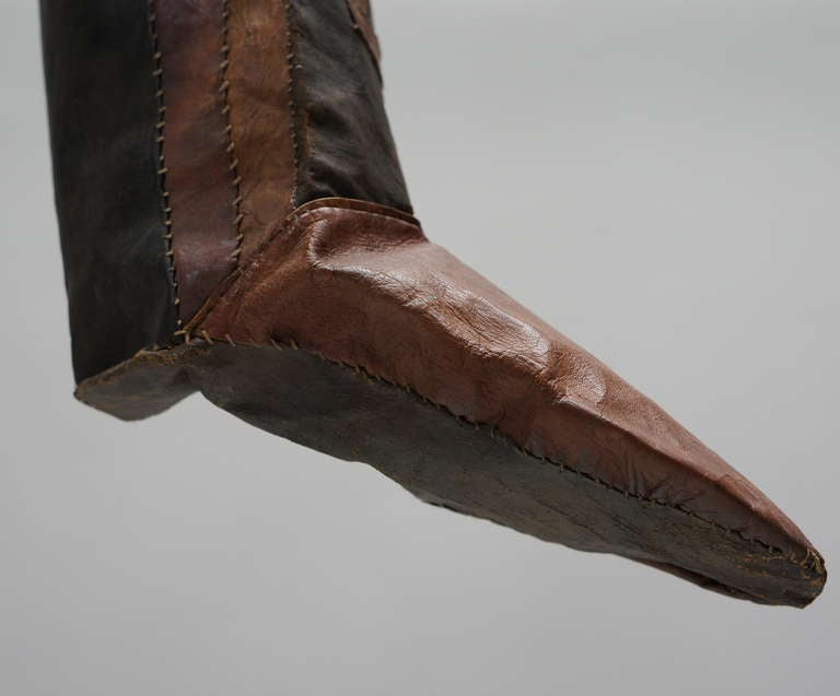 Rare Tuareg Nomadic Boots For Sale 2