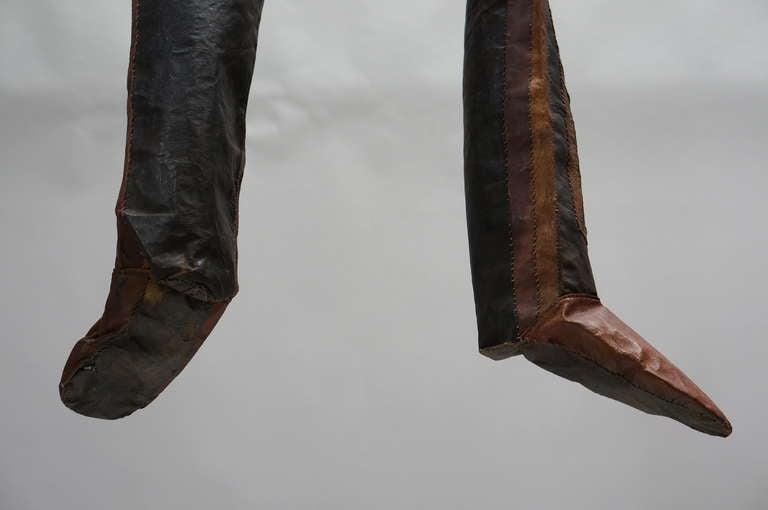 Rare Tuareg Nomadic Boots For Sale 3