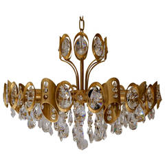 Sciolari Faceted Crystal Chandelier