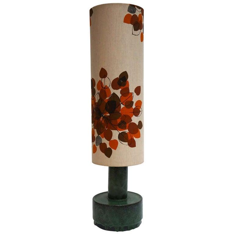 Italian Ceramic Floor Lamp