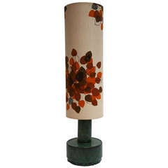 Italian Ceramic Floor Lamp