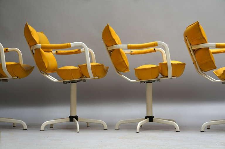 Four Beautiful Swivel Chairs 4