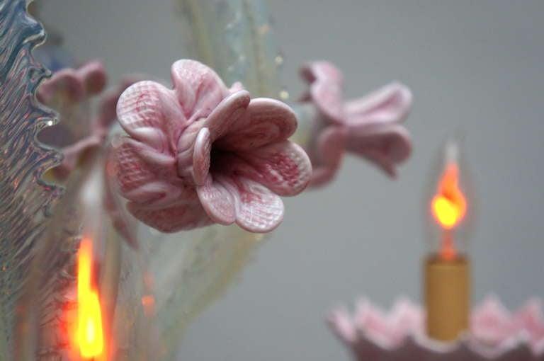 Italian Murano Glass Chandelier For Sale 2
