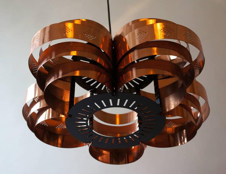 Danish Pendant by Verner Schou for Coronell Elektr 4