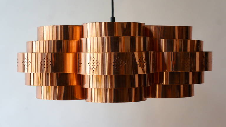 Danish Pendant by Verner Schou for Coronell Elektr 3