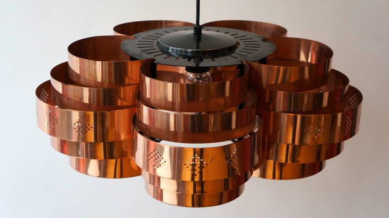 Danish Pendant by Verner Schou for Coronell Elektr 8