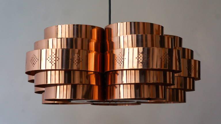 Danish Pendant by Verner Schou for Coronell Elektr 7