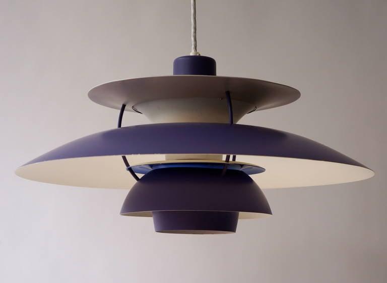 Mid-Century Modern Poul Henningsen Hanging Lamp for Louis Poulsen For Sale