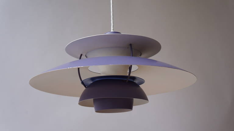 Poul Henningsen Hanging Lamp for Louis Poulsen In Good Condition For Sale In Antwerp, BE
